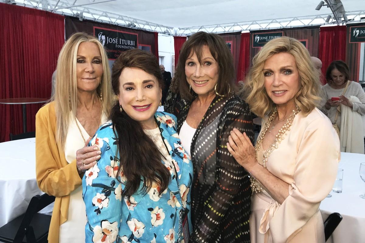 Joan Van Ark, Donelle Dadigan, Michele Lee, and Donna Mills
