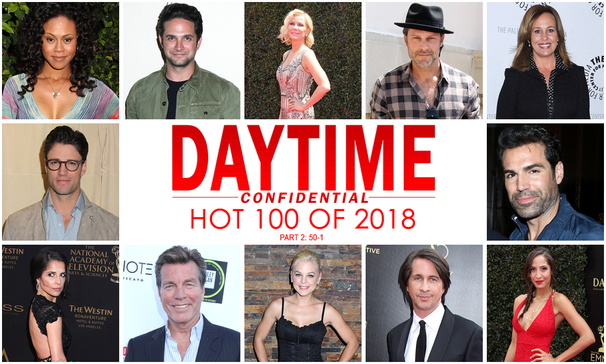 Daytime Confidential Hot 100 of 2018