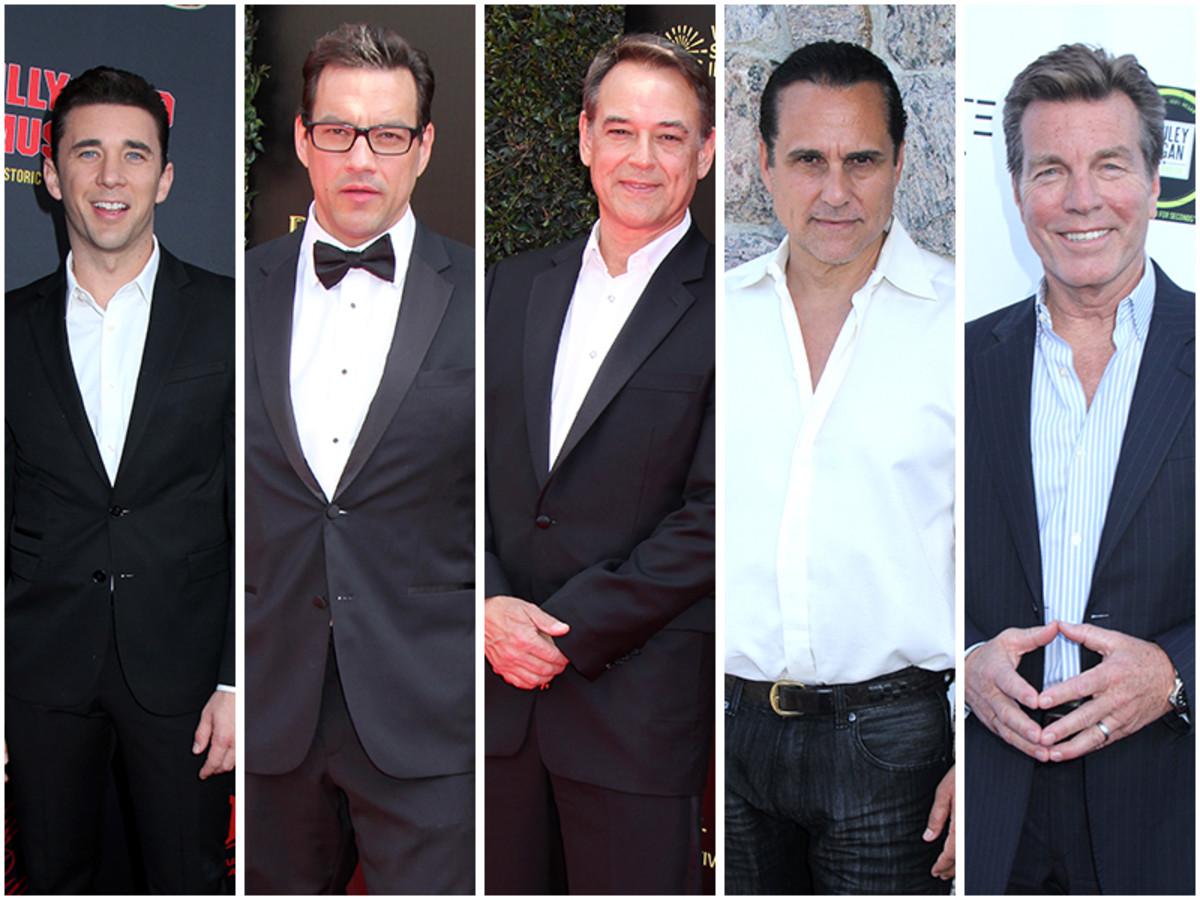 Billy Flynn, Tyler Christopher, Jon Lindstrom, Maurice Benard, Peter Bergman
