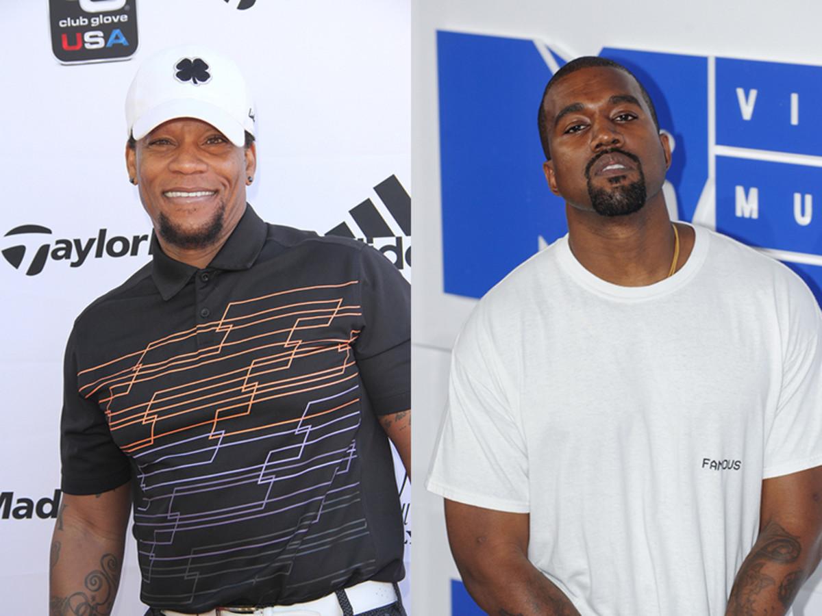 D.L Hughley, Kanye West