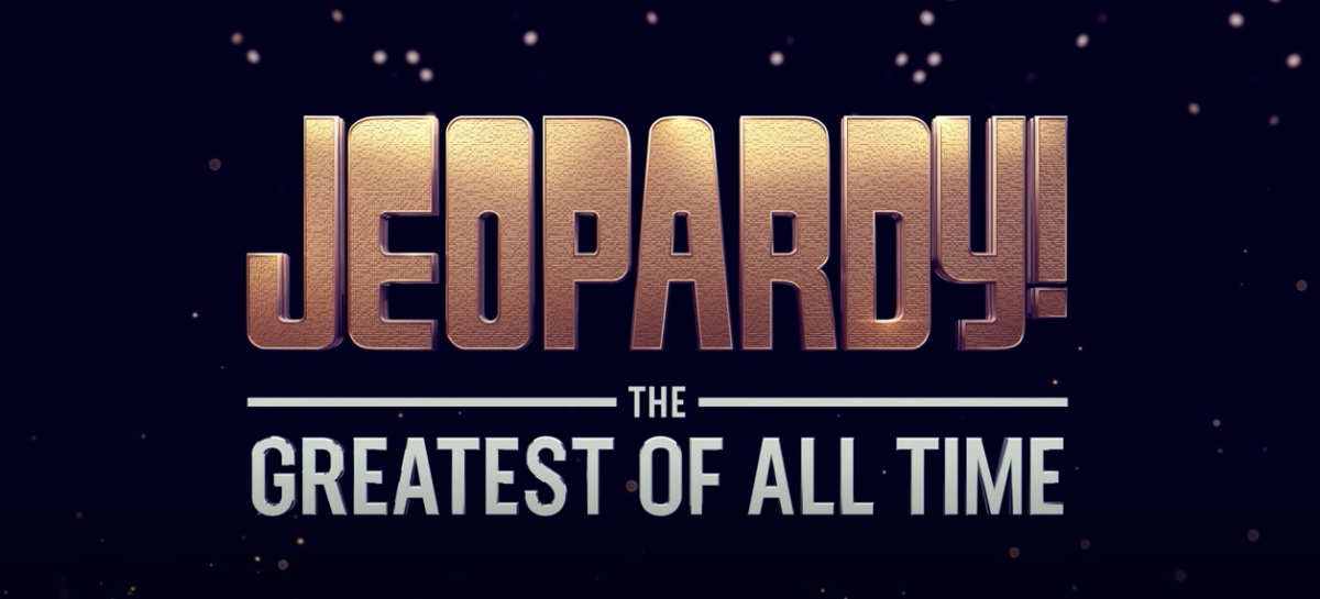 Jeopardy Greatest of All Time GOAT logo