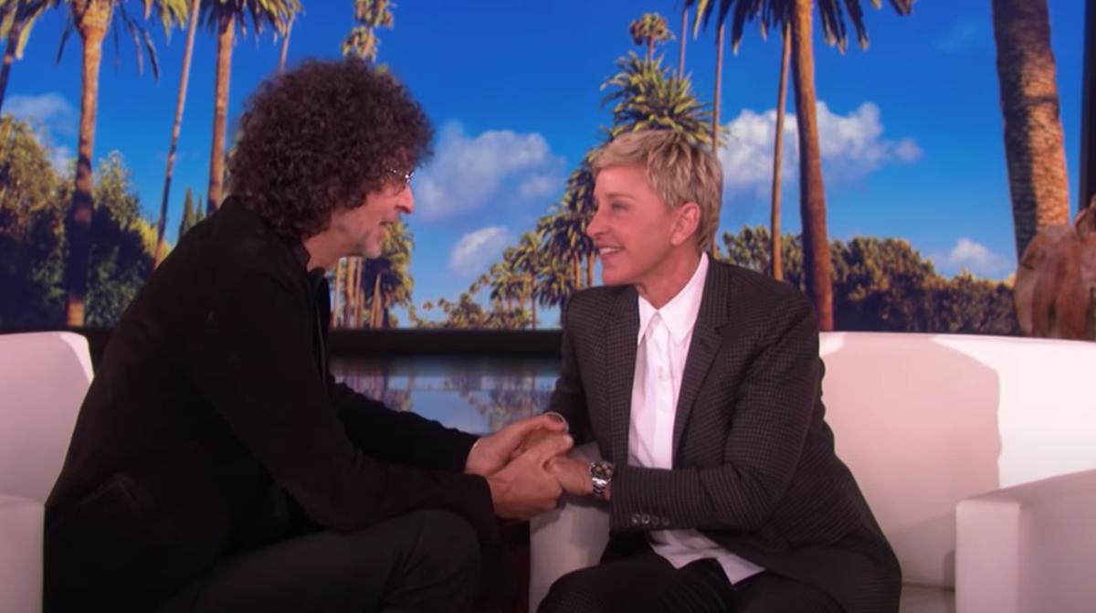 Howard Stern, Ellen DeGeneres