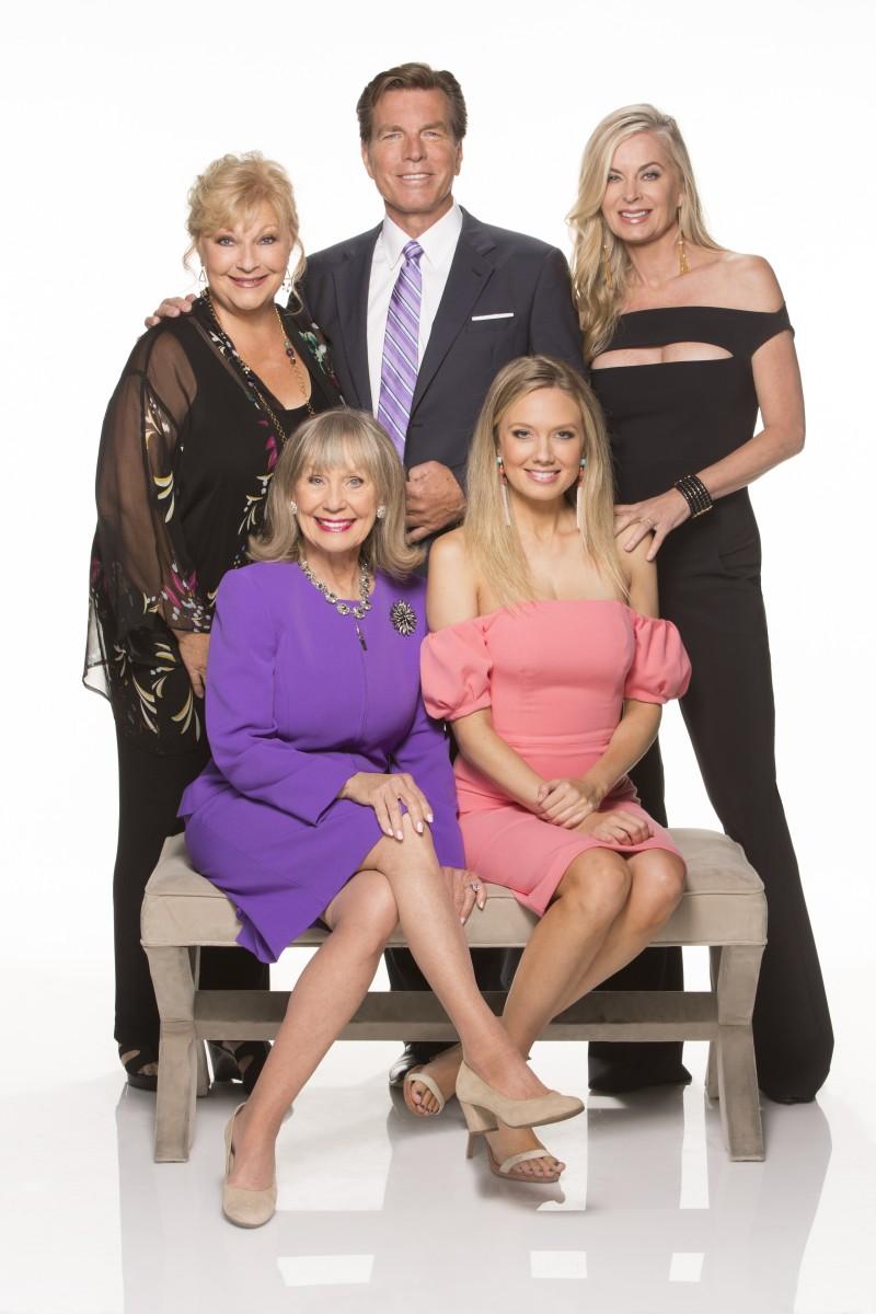 Beth Maitland, Peter Bergman, Eileen Davidson, Marla Adams, Melissa Ordway/Photo Credit: CBS