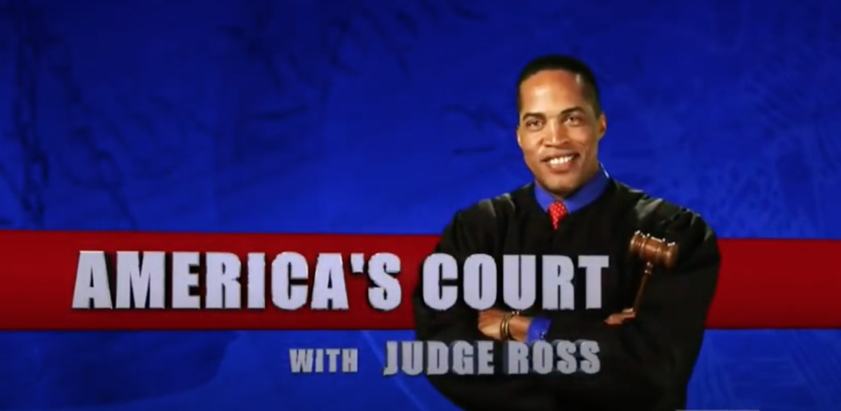 America's Court with Judge Ross Logo