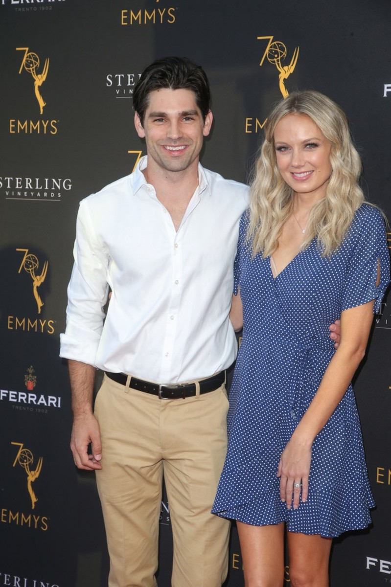 Justin Gaston and Melissa Ordway/Photo by PR Photos