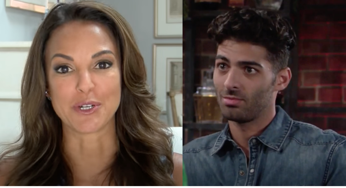 Eva LaRue and Jason Canela