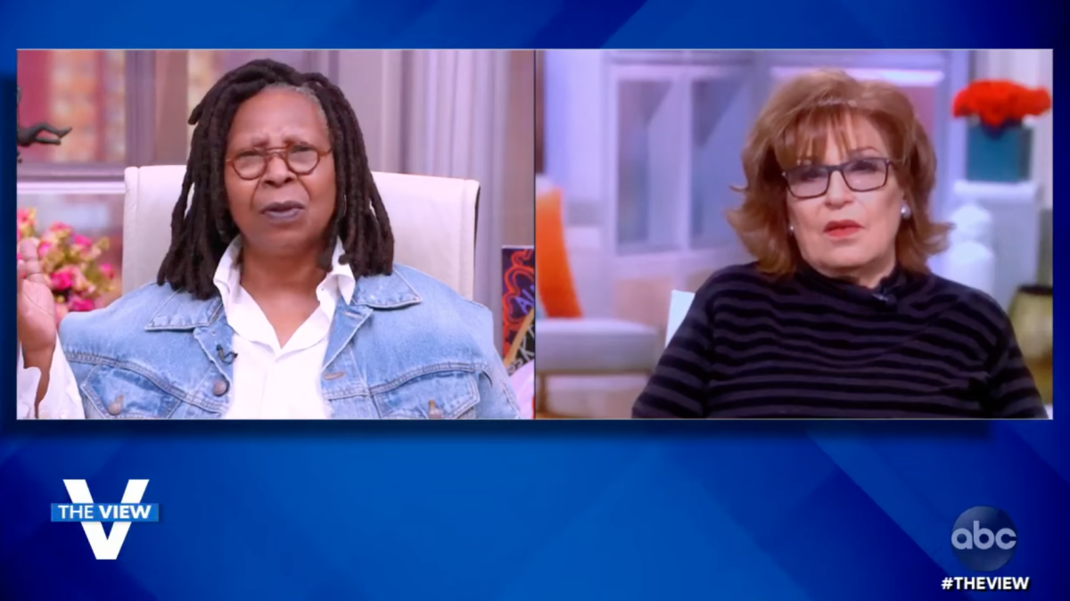 Whoopi and Joy The View