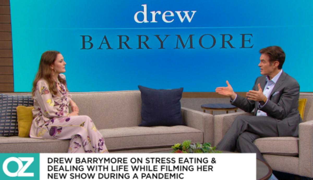 Drew Barrymore Dr. Oz