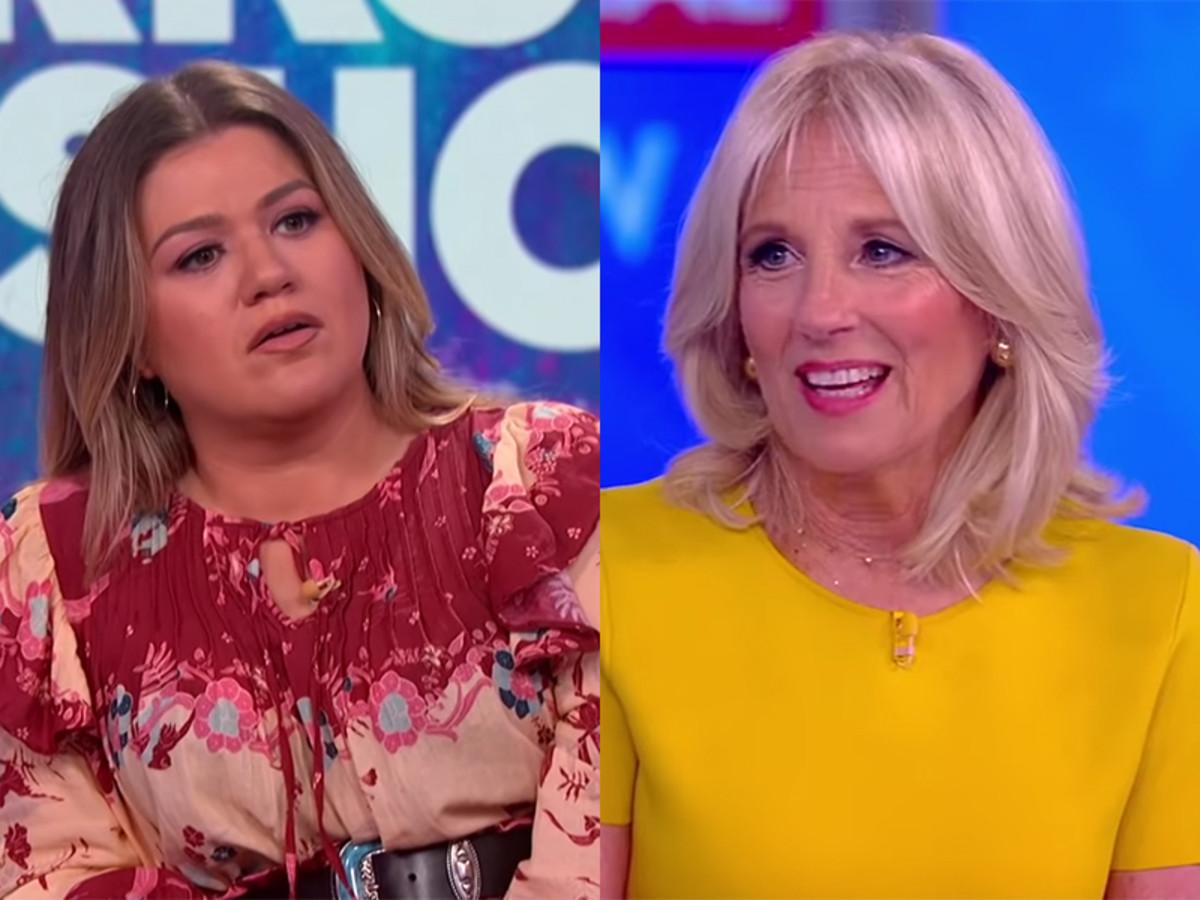 Kelly Clarkson, Jill Biden