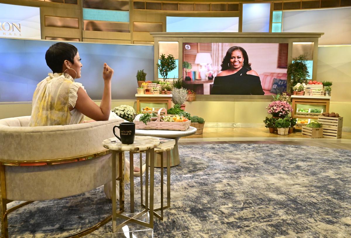 Tamron and Michelle Obama