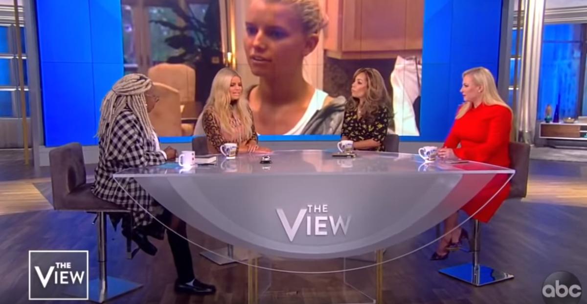 Whoopi Goldberg, Jessica Simpson, Sunny Hostin, Meghan McCain