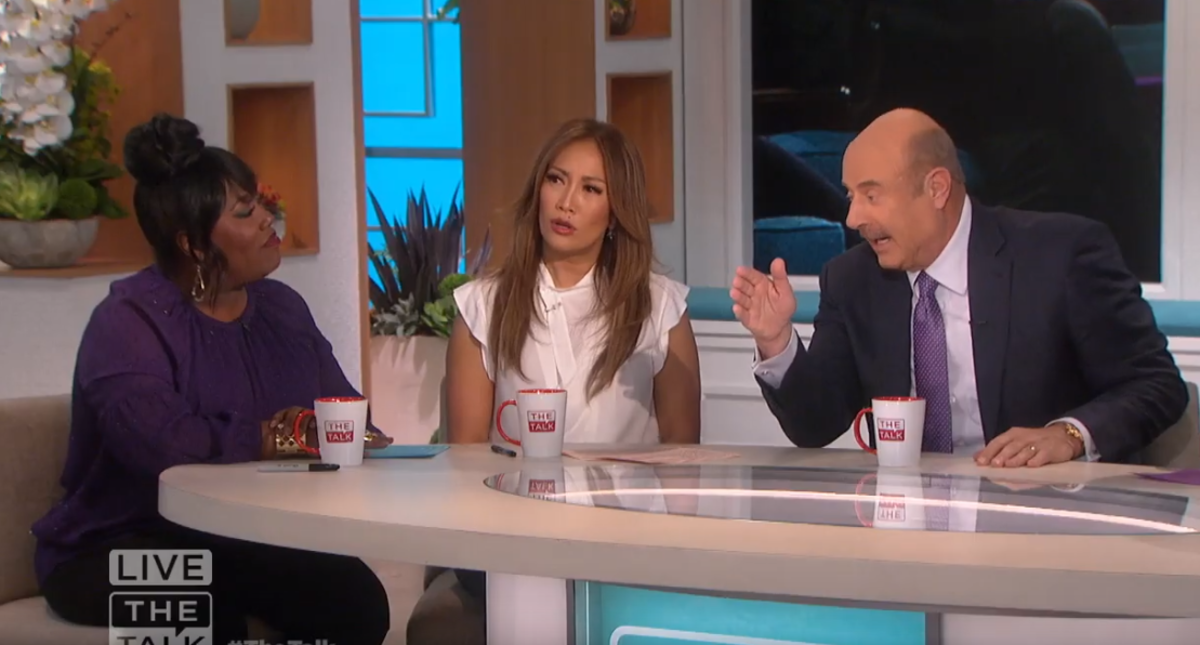 Sheryl Underwood, Carrie Ann Inaba, Dr. Phil McGraw