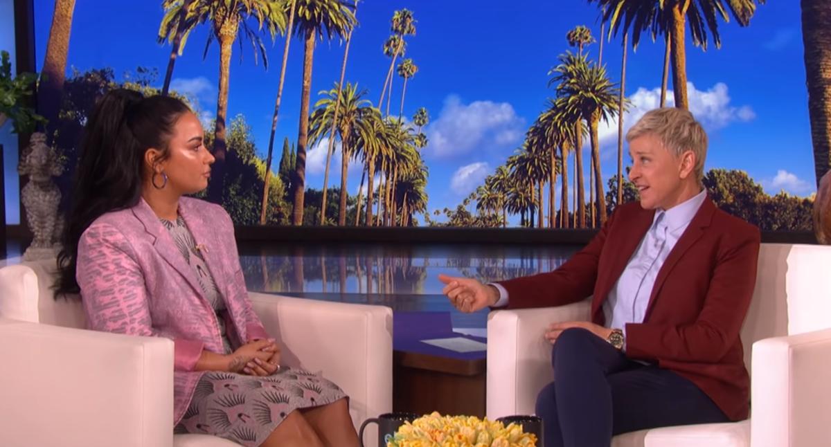 Demi Lovato, Ellen DeGeneres