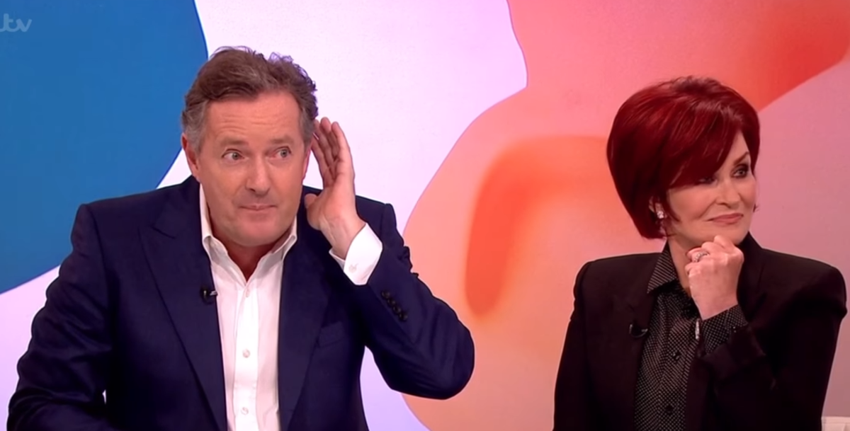 Piers Morgan, Sharon Osbourne