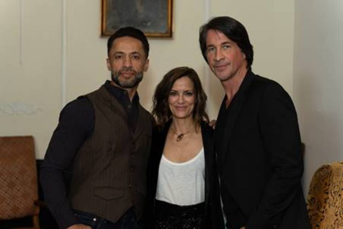 Kamar de los Reyes, Rebecca Budig, Michael Easton
