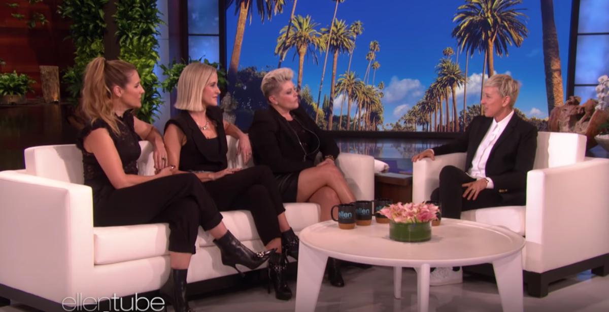 Dixie Chicks Ellen DeGeneres