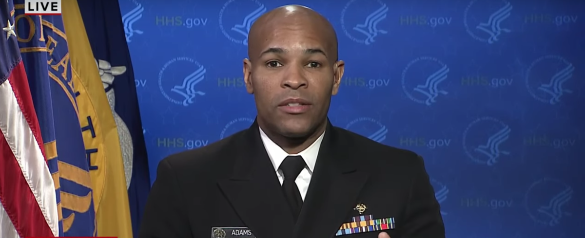 Surgeon General Dr. Jerome Adams