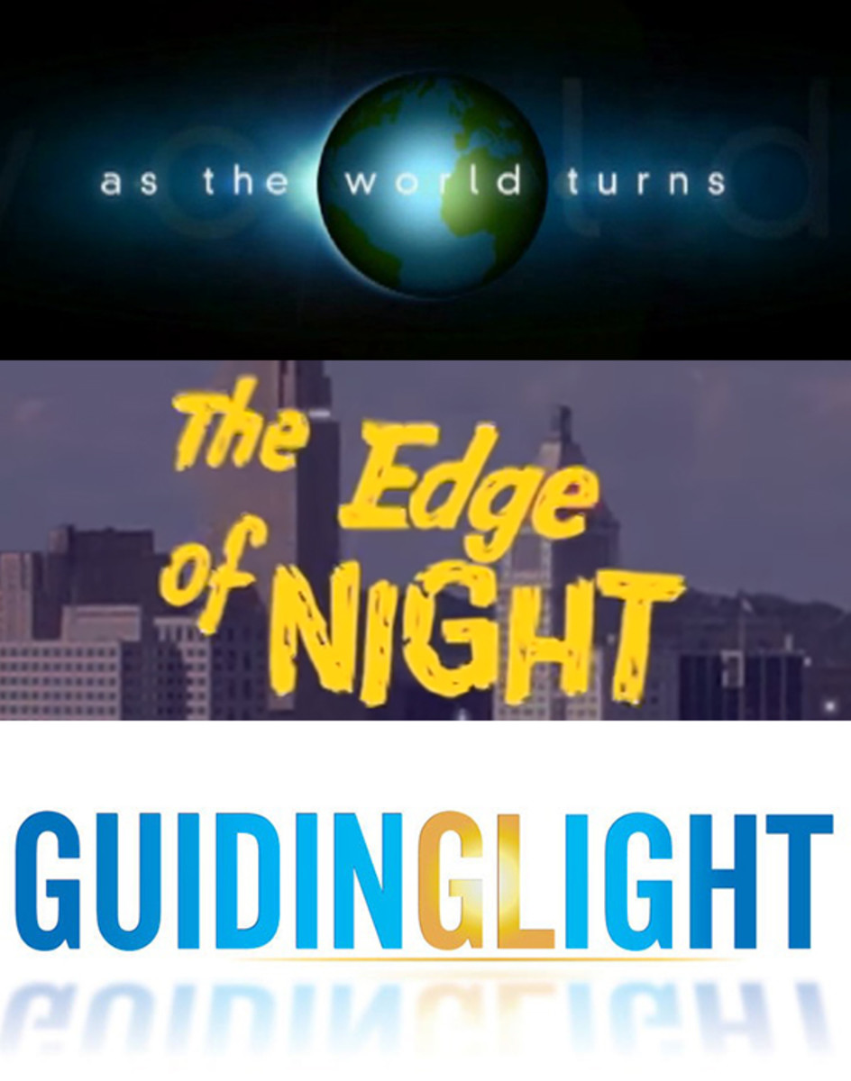 As the World Turns, The Edge of Night, Guiding Light