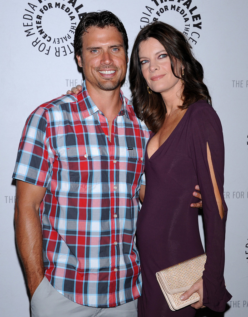 Joshua Morrow, Michelle Stafford
