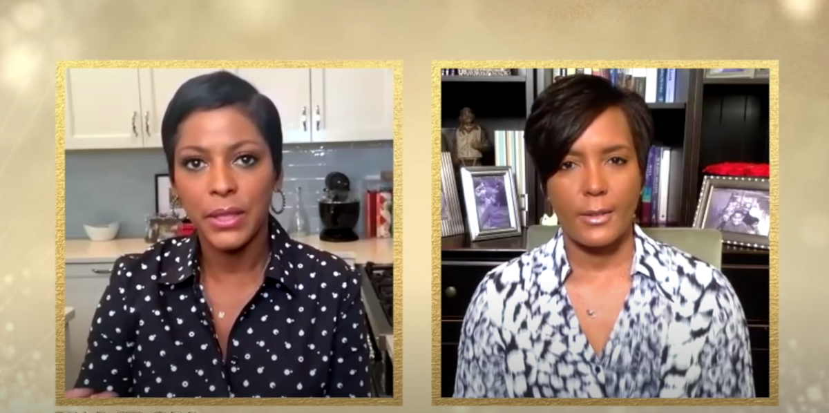 Tamron Hall, Mayor Keisha Lance Bottoms