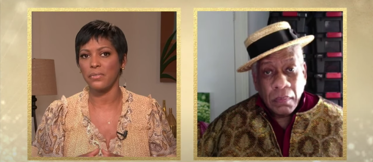 Tamron Hall, André Leon Talley