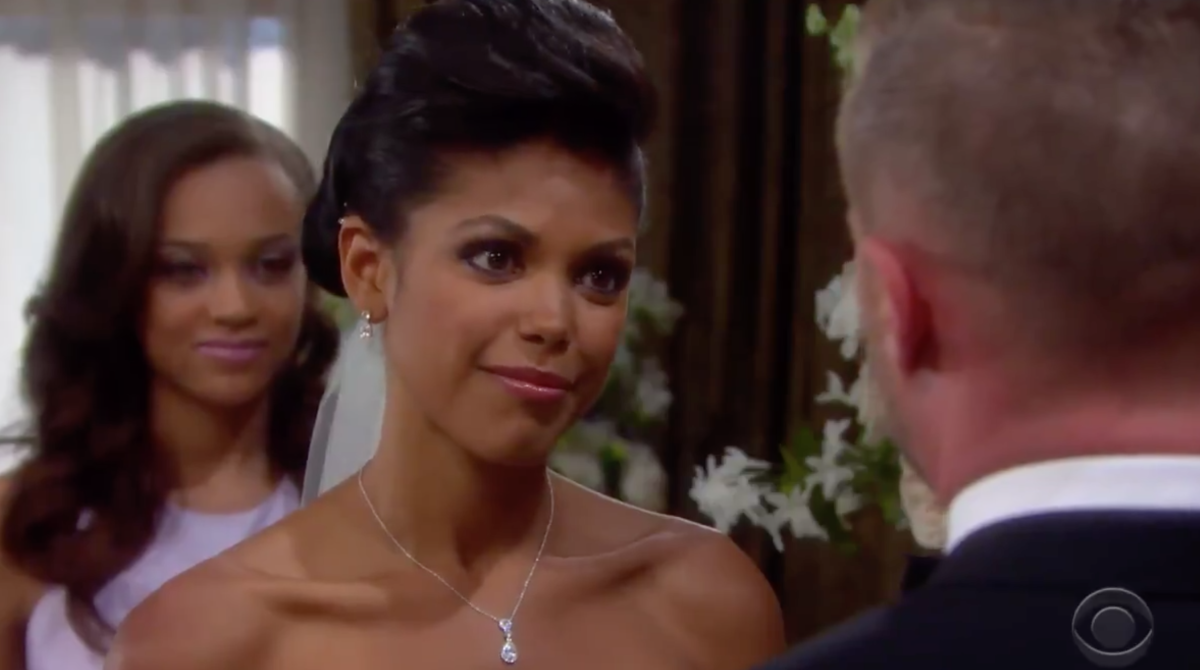 Reign Edwards, Karla Mosley, Jacob Young