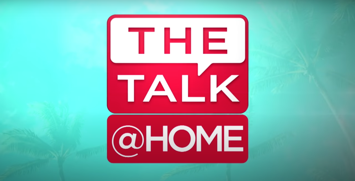 The Talk @ Home Logo