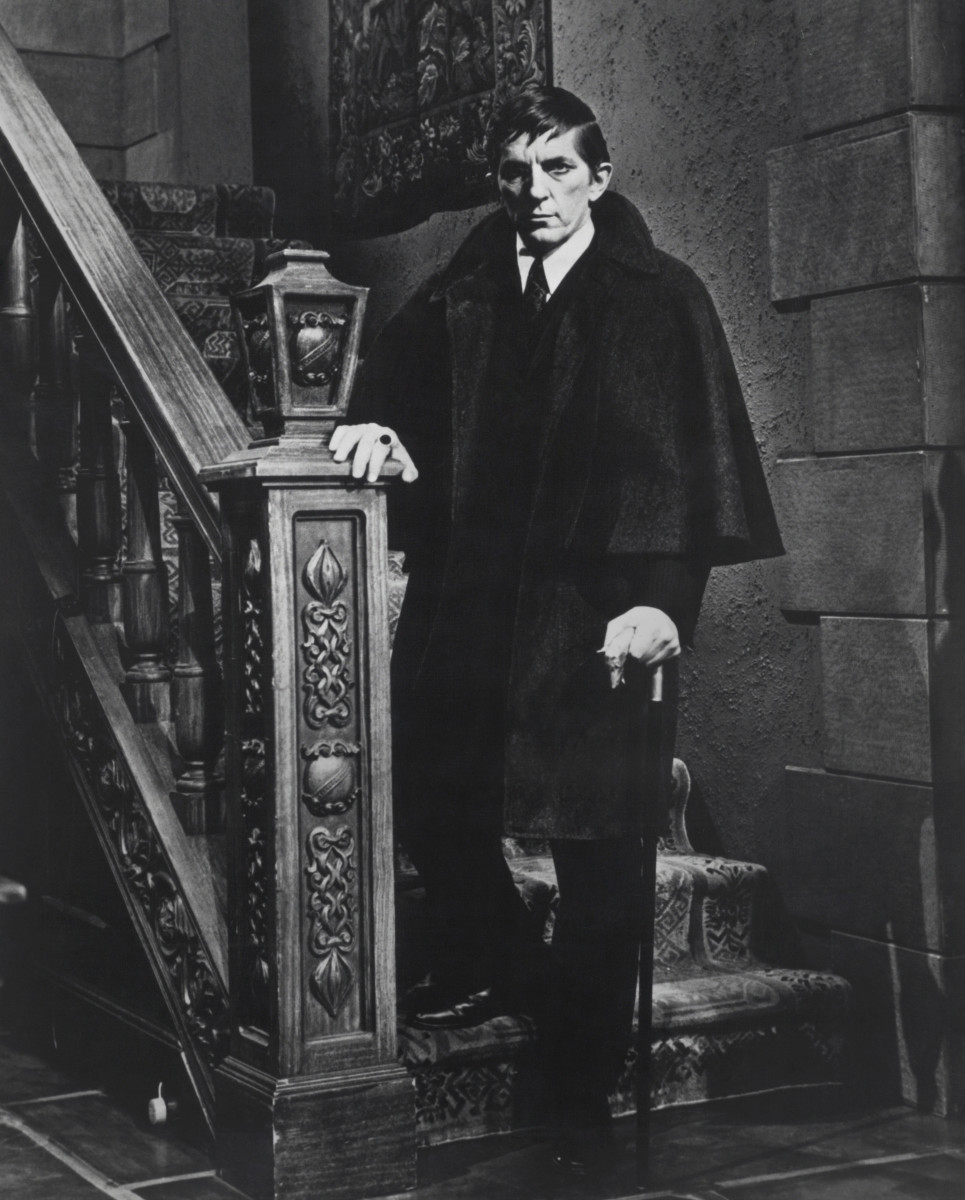 Barnabas Collins on Stairs