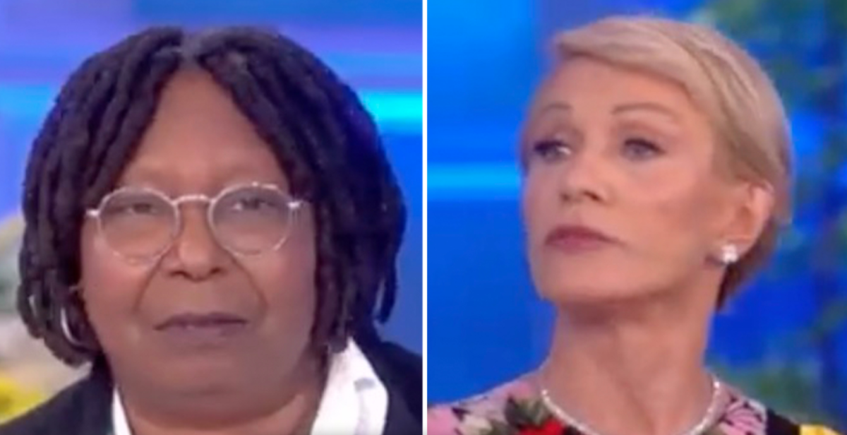 Whoopi and Barbara The View
