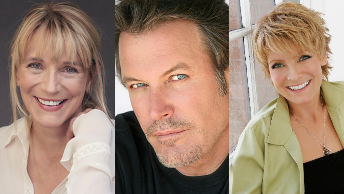 Harley Jane Kozak,Michael Woods, andEllen Dolan
