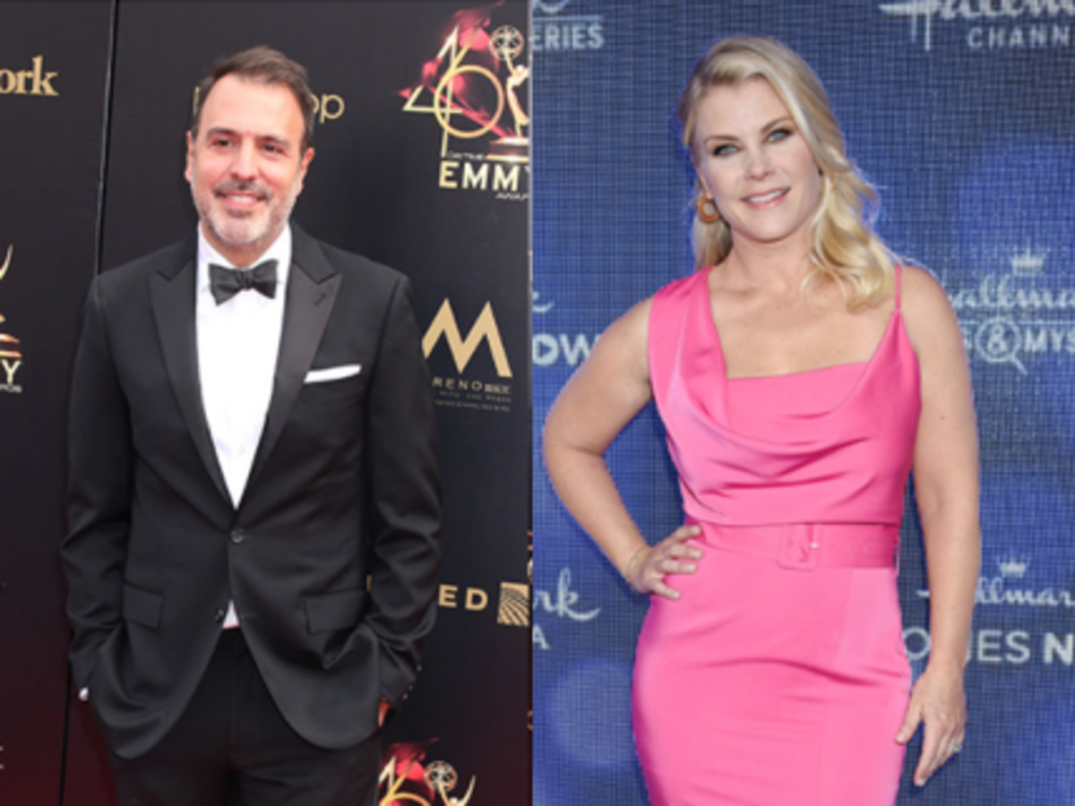 Ron Carlivati and Alison Sweeney