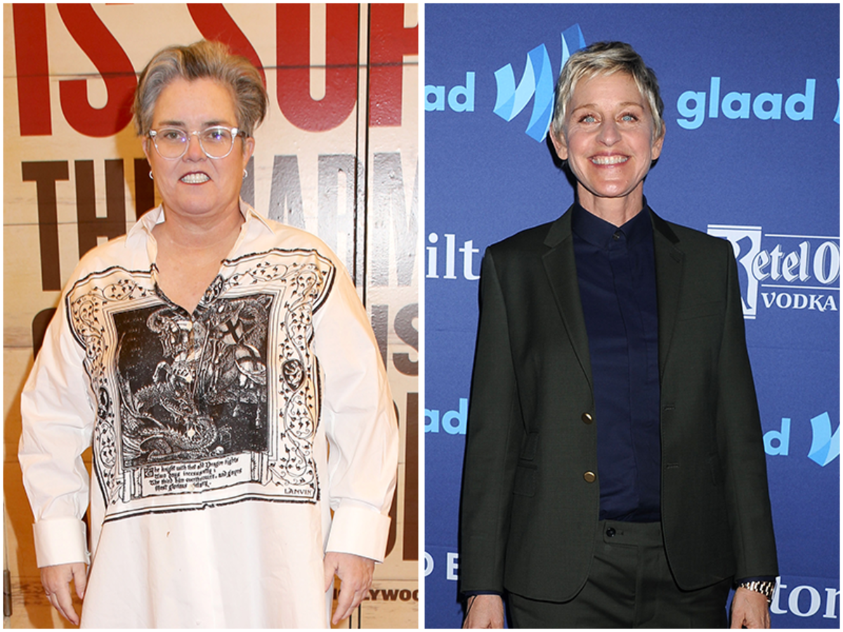 Rosie O'Donnell, Ellen DeGeneres