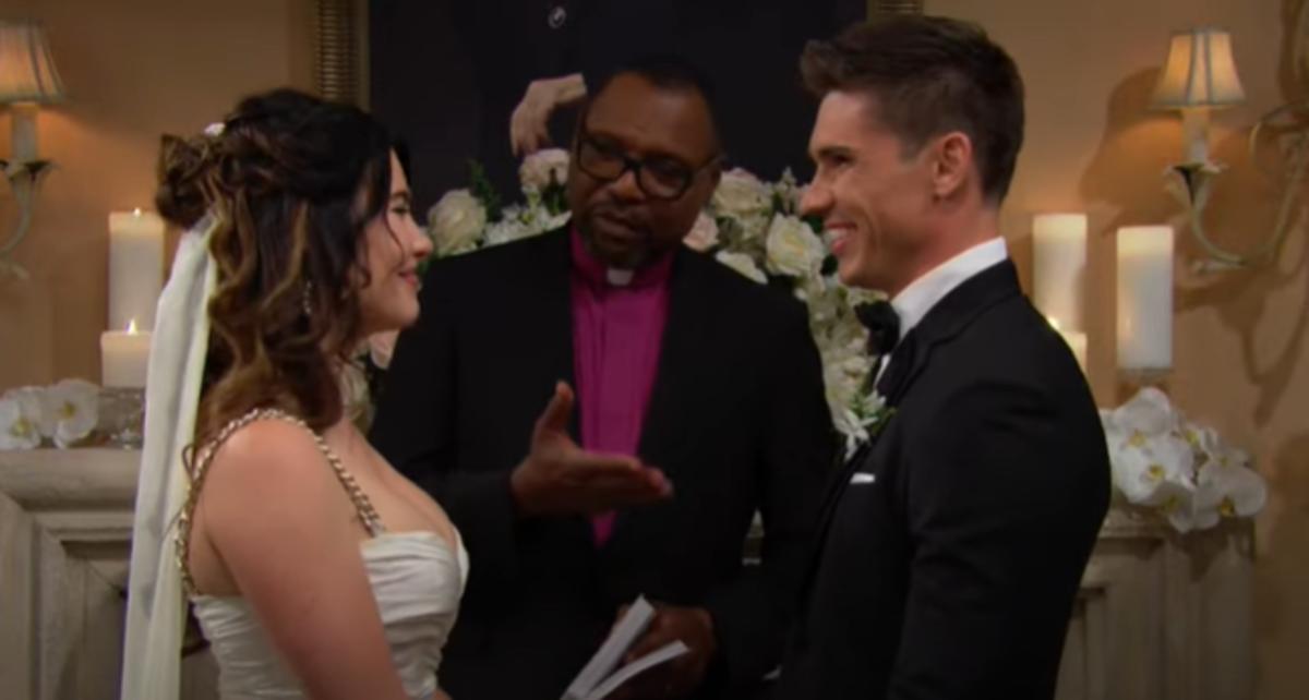 Steffy Finn wedding