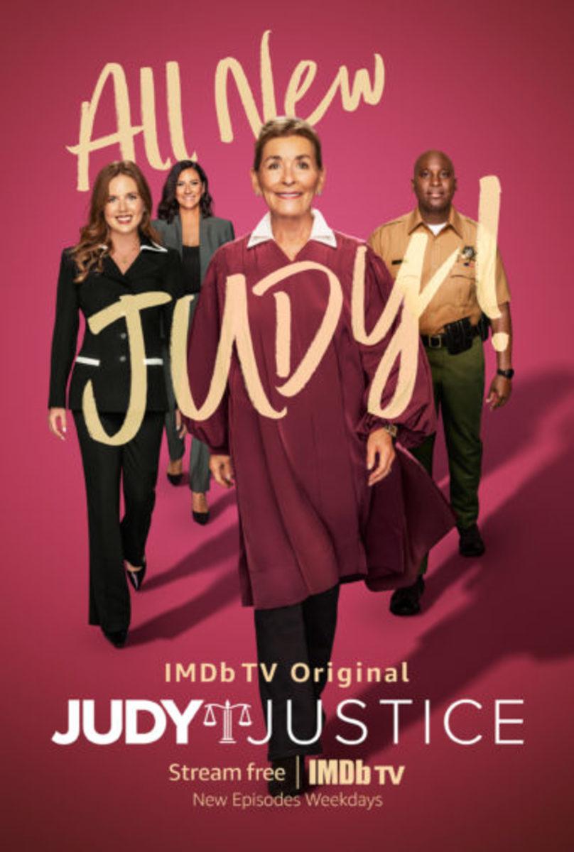 Judy Justice IMDb TV poster
